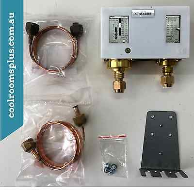 AC 240V 16A Automatic Dual Pressure Switch Control Valve Refrigeration Parts