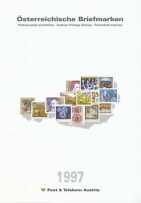 1997 Austrian Stamps Year Set-Post Office Issue Price