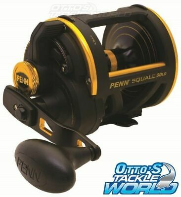 Penn Squall 60LD Overhead Lever Drag Reel BRAND NEW at Otto's Tackle World