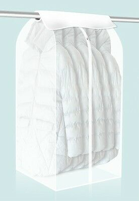 Dust Wardrobe Storage Bag Cover Protector For Clothing Dress Garment Suit Coat