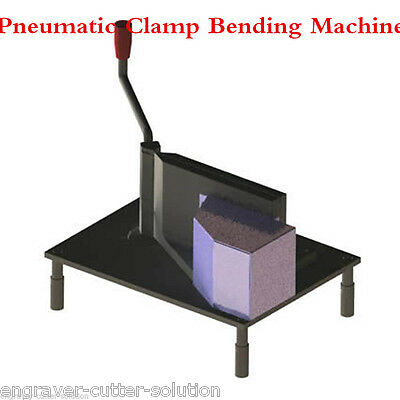 Pneumatic Clamp Bending Machine Slot Cutting Tools for Metal Channel Letters
