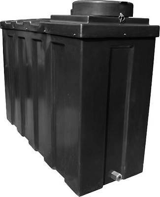 Ecosure 1070 Litre 1000 Ltr Insulated Large Drinking Water Tank Potable Black