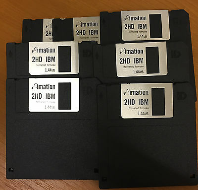 Imation 2HD IBM 1.44MB x 7 Discs Formatted Diskette