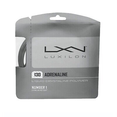 3 or 5 SETS - LUXIONG TENNIS STRING - ADRENALINE 130 - 1.30MM / 16L - 12.2M SET