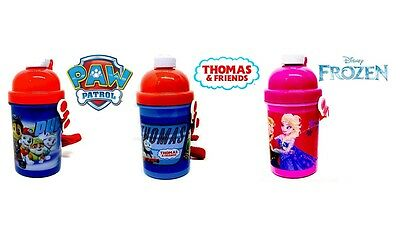 Character Children's/kids Thermos Pop Up Water Drinks Bottle 400Ml