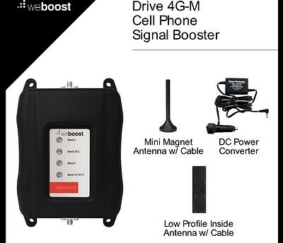 New Wilson weBoost Drive 4G-M Wireless Vehicle Cell Phone Signal Booster -470108