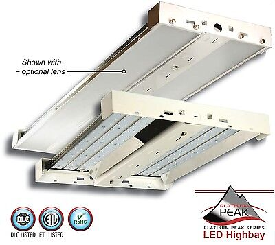 110 Watt LED High Bay Light Fixture for Warehouse - DLC Listed 5 Year Warranty