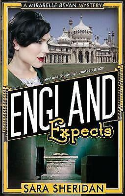 England Expects by Sara Sheridan (Paperback) New Book
