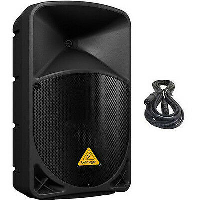 Behringer B112D Active Powered PA Powered Speaker 1000W Amplified w/ XLR Cable