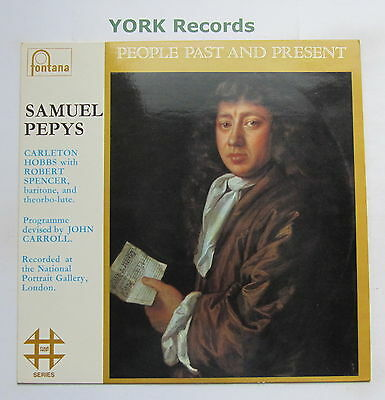 SAMUEL PEPYS - People Past And Present - Ex Con LP Record Fontana 4FP 9502
