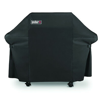 """Weber Genesis Heavy Duty 60"""" Grill Cover Outdoor Barbecue Premium New BBQ Grills"""