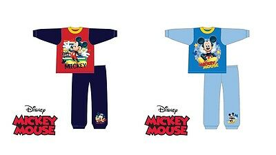 "Disney Mickey Mouse Character Toddler/boys/children/kids Pyjamas ""oh Boy"" ""star"""
