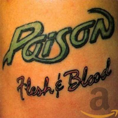 Poison - Flesh and Blood - Poison CD UQVG The Cheap Fast Free Post The Cheap