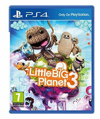 LittleBigPlanet 3 (PS4) - Game  YAVG The Cheap Fast Free Post