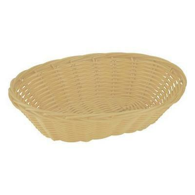 12x Bread Basket, Oval, 240mm, Plastic, Cafe / Restaurant / Bistro / Bar