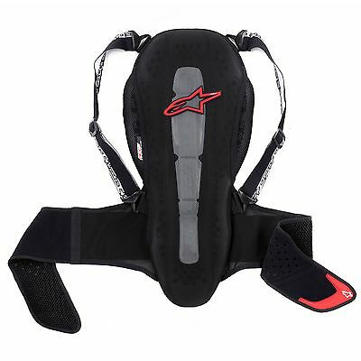 Alpinestars Nucleon KR-2 CE Certified Motorcycle Back Protector Black / Red
