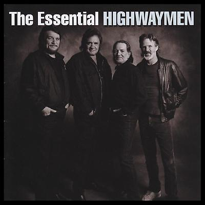Highwaymen (2 Cd) The Essential Johnny Cash~Waylon Jennings~Willie Nelson *New*