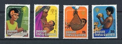 s8694) PAPUA & NEW GUINEA MNH** 1979, International year of the child 4v