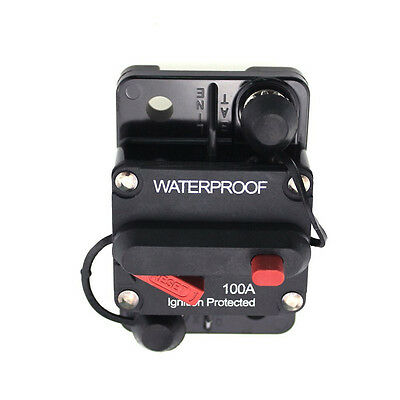 R5CB100 100 Ampere Pro Series Circuit Breaker With Manual Reset Button