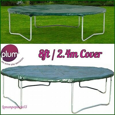 Plum 8ft / 2.4m Trampoline Cover Year round Weather Protection Rain Dirt Debris