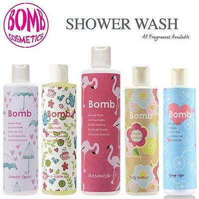 Bomb Cosmetics Shower Wash 300ml All Fragrances & FREE POSTAGE