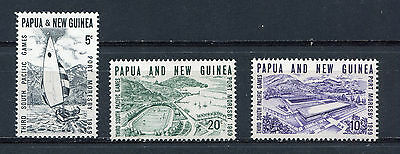 s8753) PAPUA & NEW GUINEA MNH** 1969, South Pacific games 3v