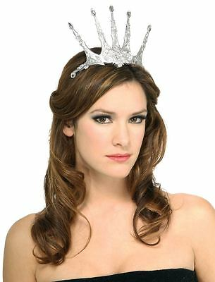 Womens Std. Adult Snow Queen Two Piece Tiara - Princess Costumes