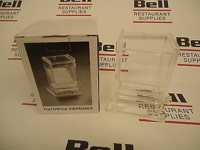 *NEW* Update TPD-AC Acrylic Toothpick Dispenser - FREE SHIPPING