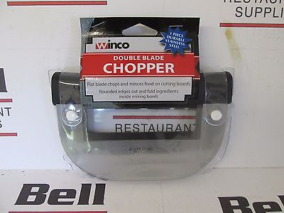 *new* Winco Kcc-2 Double Blade Chopping Knife - Nsf - Free Shipping