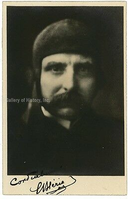 Louis Bleriot - Photograph Signed