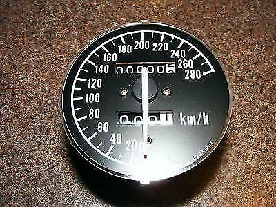 Kawasaki Zx6R Clock With Zero Km - 25005-1575 Speedometer