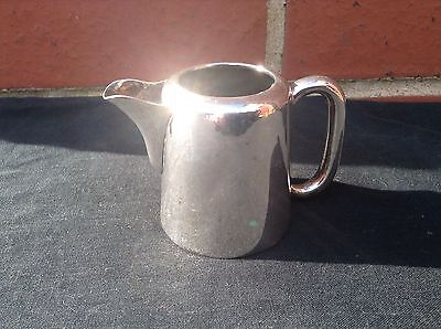 Antique English Silver Plate Milk Jug - Hotel Style - Regis Plate