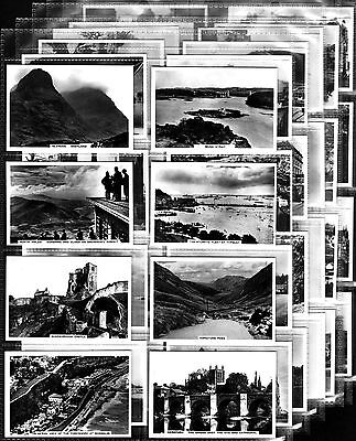 Quality Full EXC Set Pattreiouex SIGHTS OF BRITAIN 2nd 1936 Cigarette Cards
