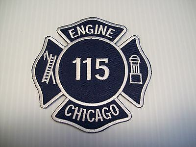 Chicago Fire Department Engine 115 Patch