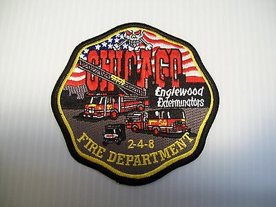 Chicago Fire Department Engine 54 Patch