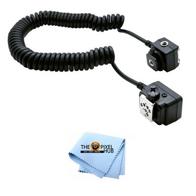 Off-Camera Shoe Cord AF TTL For NIKON 3' Heavy Duty Coil! For Nikon DSLR Cameras
