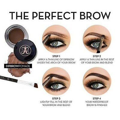 HOT Anastasia Beverly Hills Dipbrow Pomade Wear Waterproof fuller Thicker Brows