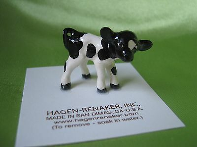 Hagen Renaker Holstein CALF Figurine Miniature 00022 FREE SHIPPING NEW