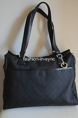OROTON Signature O Baby Bag Nappy Wet Pack Mat Bottle Warmer in Black RRP $495