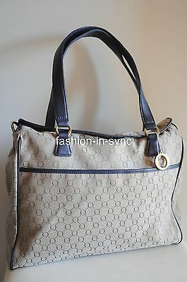 OROTON Signature O Baby Bag Nappy Wet Pack Mat Bottle Warmer in Navy Taupe
