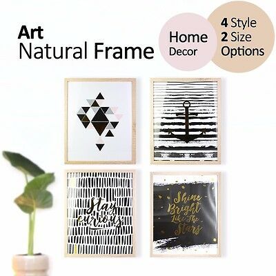 Art Natural Photo Frame 40x50 50x70cm Home Decor Stylish Picture Glass Front