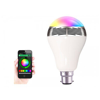 BSR LED Bulb with Bluetooth and Built-in Speaker - Bayonet