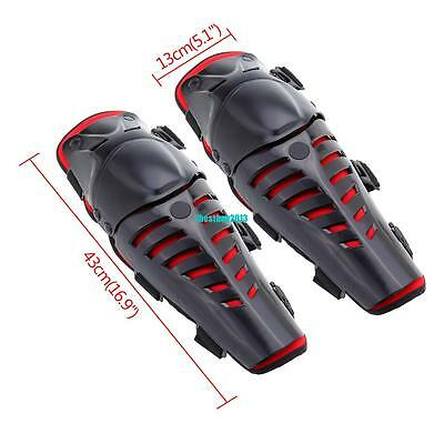 Off-Road Motorcycle Knee Guard Shin Pads Adult Body Protection Armour Motocross