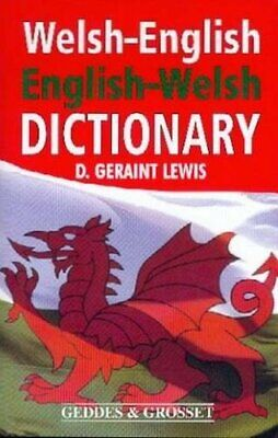 Welsh-English English-Welsh Dictionary by Lewis, D. Geraint Paperback Book The
