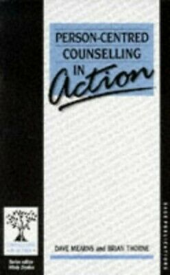 Person-Centred Counselling in Action by Brian Thorne Paperback Book The Cheap