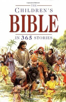 The Children's Bible in 365 Stories by Mary Batchelor Hardback Book The Cheap