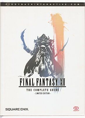 Final Fantasy XII (Limited Edition): The Complete Guide, Piggyback Hardback Book