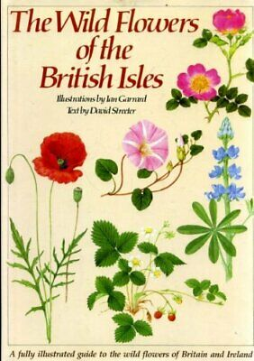 Wild Flowers Of British Isles by Streeter, David Hardback Book The Cheap Fast