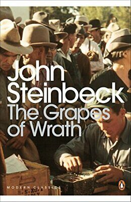 The Grapes of Wrath, Steinbeck, John Paperback Book The Cheap Fast Free Post