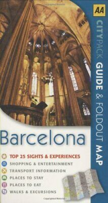 AA CityPack Barcelona (AA CityPack Guides) by AA Publishing Paperback Book The